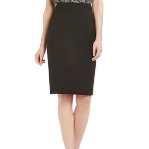 Antonio Melani Black Pencil career Skirt Size 6